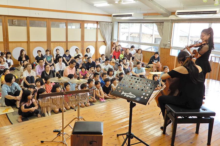 龍野Marieさん親子ふれあいコンサート
